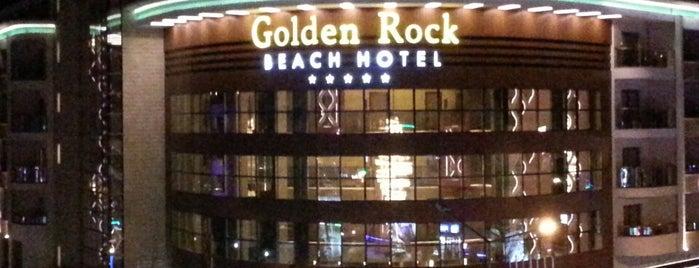 Golden Rock Beach Hotel is one of Marmaris Otelleri.