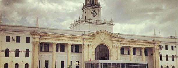 Ж/Д вокзал Краснодар-1 is one of разное.