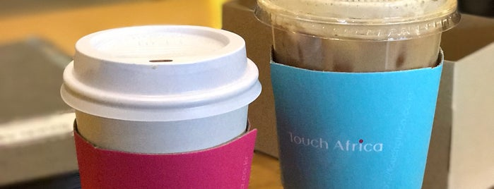 Touch Africa is one of Coffee Shop-Seoul.