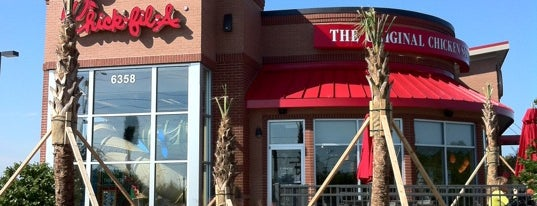 Chick-fil-A is one of Dining in Orlando, Florida.