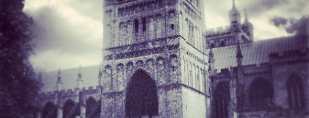 Exeter Cathedral is one of Inspired locations of learning.