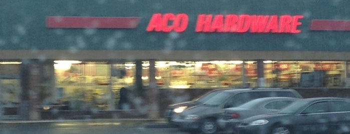 ACO Hardware is one of Halloween.