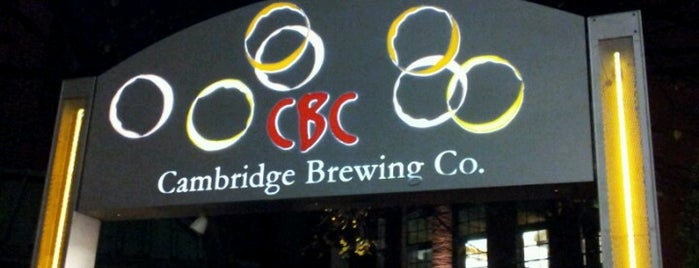 Cambridge Brewing Company is one of Best Boston Beer Bars.