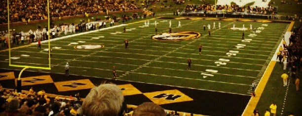 Faurot Field at Memorial Stadium is one of Sports Venues I've Worked At.
