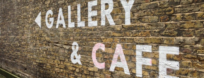 Carmelite Café is one of east east london.