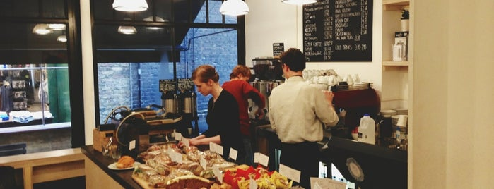 Department of Coffee and Social Affairs is one of London's Best Coffee.