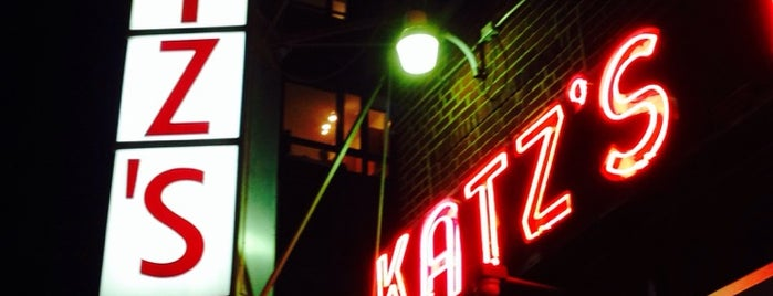 Katz's Delicatessen is one of ny.