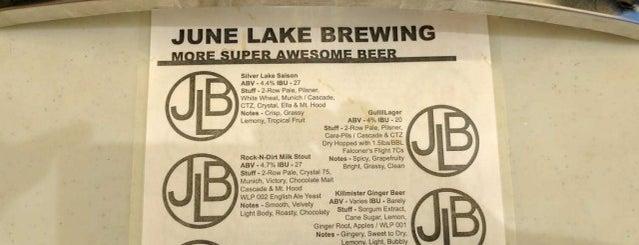 June Lake Brewery is one of California Breweries 2.
