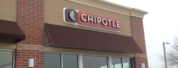 Chipotle Mexican Grill is one of Ames.