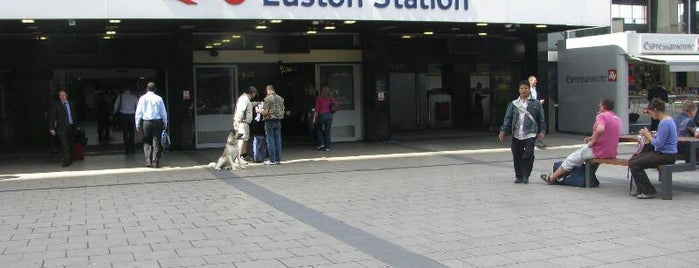 London Euston Railway Station (EUS) is one of Railway stations visited.