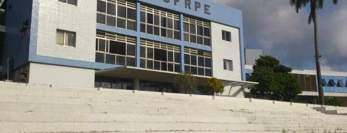 UFRPE - Universidade Federal Rural de Pernambuco is one of Cida e Flávia Cabelereiras.