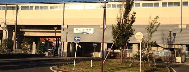 Shin-Uwagromo Station is one of 愛知環状鉄道.
