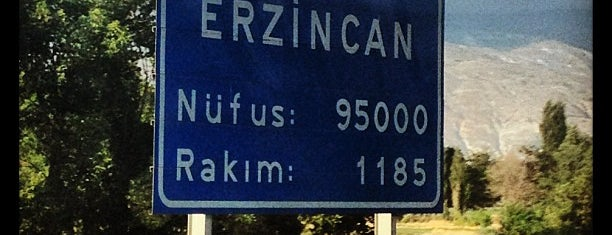 Erzincan is one of Türkiye'nin İlleri.