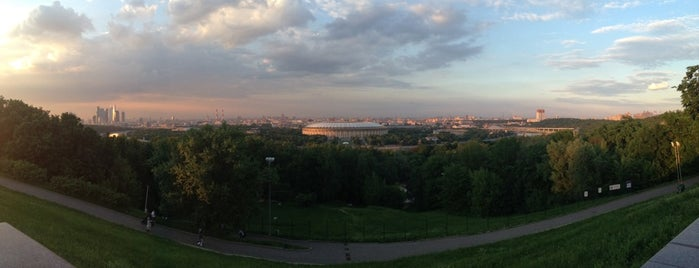 Observation Deck is one of Интересная Москва.