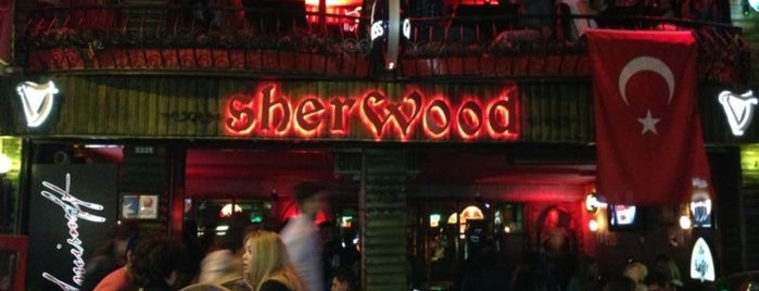 Sherwood Pub is one of İzmir.