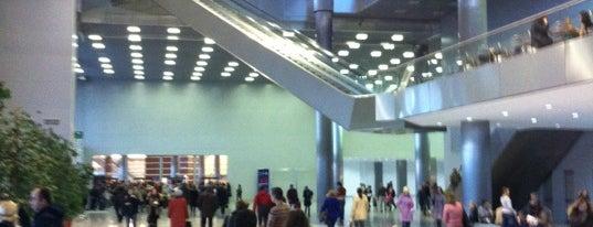 Crocus City Mall is one of TOP-100: Торговые центры Москвы.