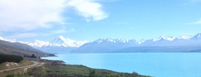 Aoraki Mount Cook is one of NZ to go.