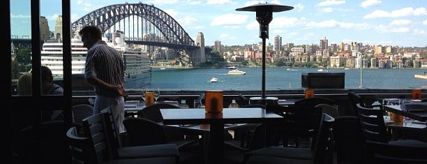 Café Sydney is one of Lunch/dinner.