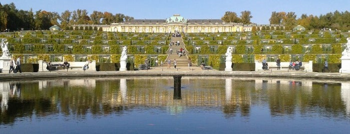 Schloss Sanssouci is one of Parks - Berlin's green oases.