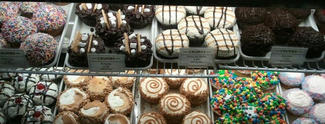Crumbs Bake Shop is one of Places I love to eat at.
