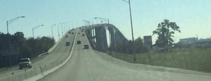 Sam Houston Tollbridge is one of Roads/Hwys.