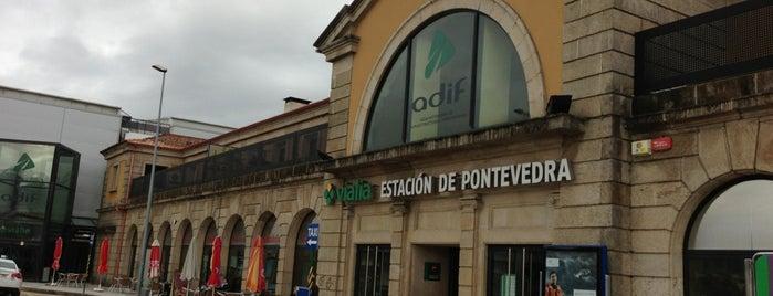 Estación de Tren de Pontevedra | ADIF is one of Tips de los oyentes.