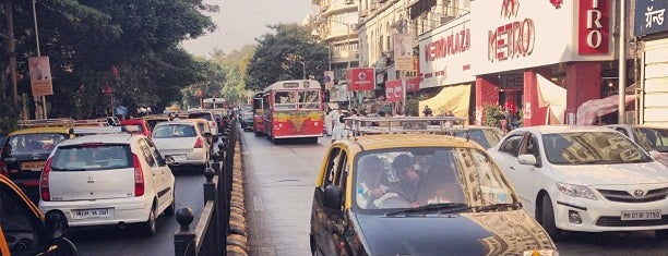 Colaba Causeway is one of Mumbai.