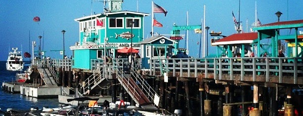 Green Pier is one of Recommendations from you to me 4square and 4cast.