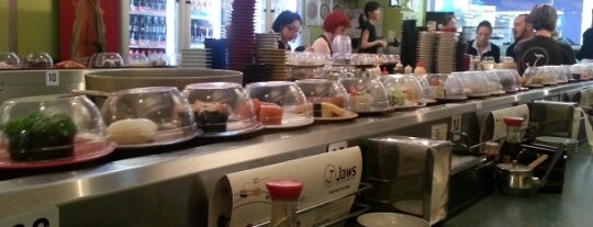 Jaws Kaiten Sushi is one of Explore Perth.