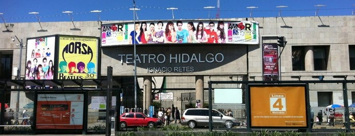 Teatro Hidalgo is one of ¡Cui Cui ha estado aquí!.