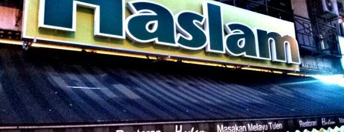 Restoran Haslam is one of Makan @ KL #1.