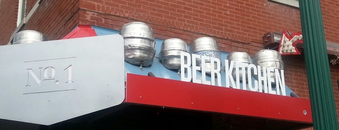 Beer Kitchen No. 1 is one of Kansas City Favorites.