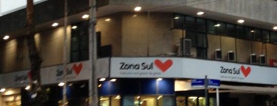 Supermercado Zona Sul is one of Leblon: rua das pedras ou quadrado.