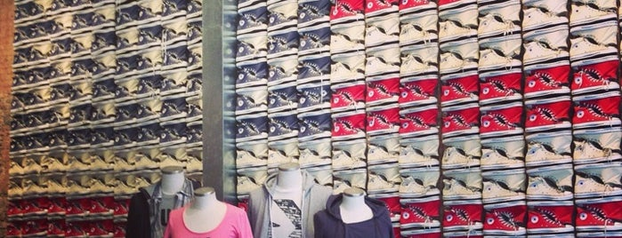 Converse is one of Downtown.