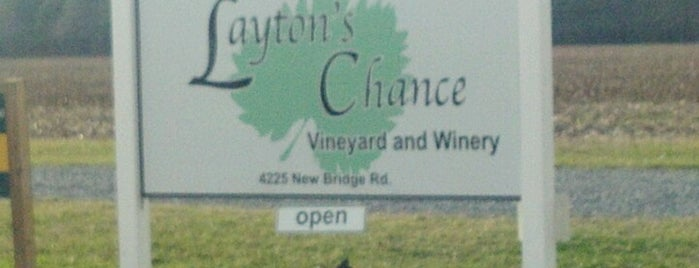 Layton's Chance Winery is one of MD Wineries.
