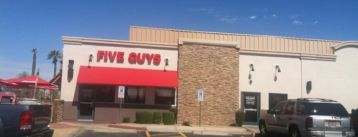 Five Guys is one of Gluten-free/Food & Drink Allergy Friendly.