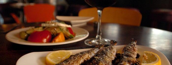 Mezze is one of Baltimore Sun's 100 Best Restaurants (2012).