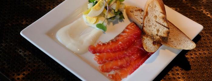 Waterfront Kitchen is one of Baltimore Sun's 100 Best Restaurants (2012).