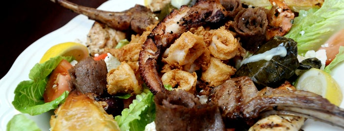Samos Restaurant is one of Baltimore Sun's 100 Best Restaurants (2012).