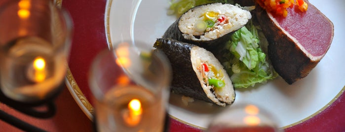 Sascha's 527 Cafe is one of Baltimore Sun's 100 Best Restaurants (2012).