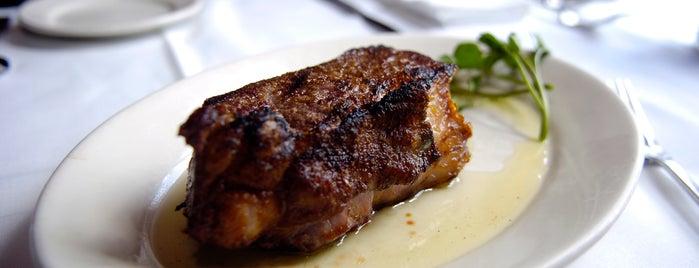 Lewnes' Steakhouse is one of Baltimore Sun's 100 Best Restaurants (2012).