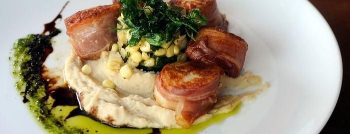 The Dogwood Restaurant is one of Baltimore Sun's 100 Best Restaurants (2012).