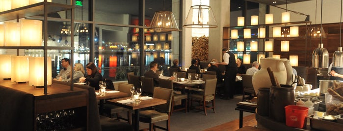 Wit and Wisdom Tavern is one of Baltimore Sun's 100 Best Restaurants (2012).