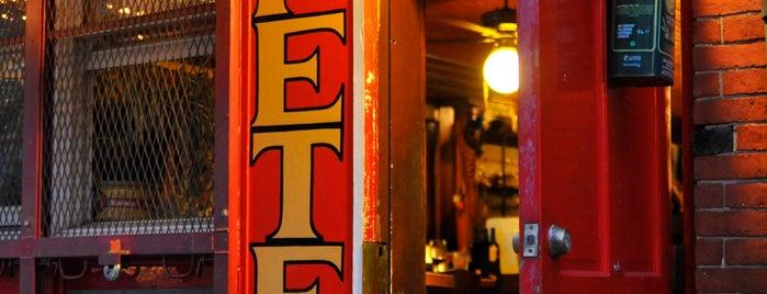 Peter's Inn is one of Baltimore Sun's 100 Best Restaurants (2012).