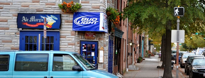 Ale Mary's is one of Baltimore's Best Bars - 2012.