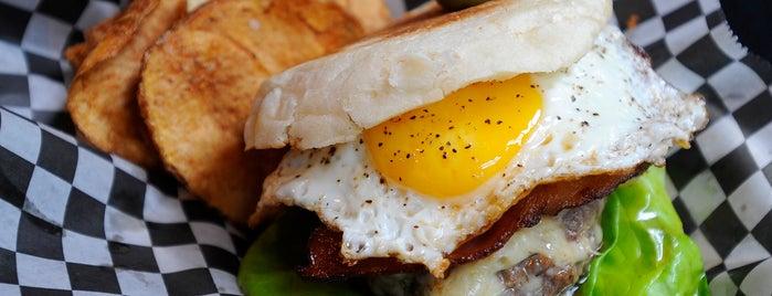 Abbey Burger Bistro is one of Baltimore Sun's 100 Best Restaurants (2012).