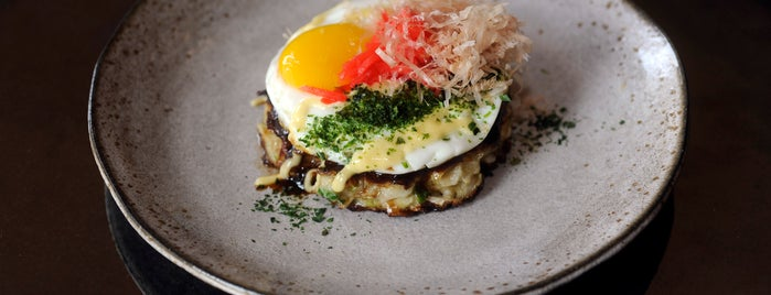 Pabu is one of Baltimore Sun's 100 Best Restaurants (2012).