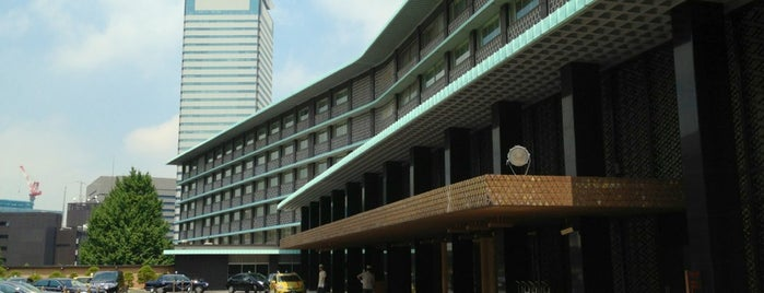 ホテルオークラ東京 is one of Getaway | Hotel.