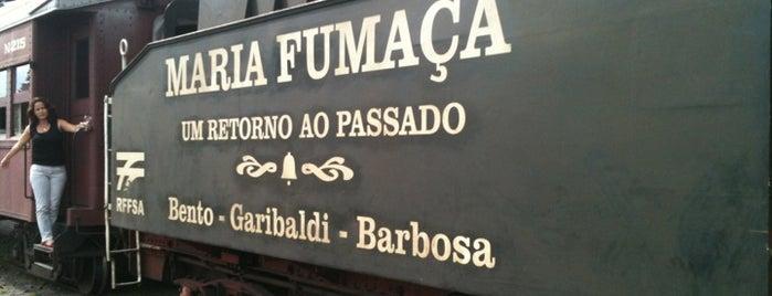 Estação Ferroviária Carlos Barbosa is one of Serra Gaúcha.