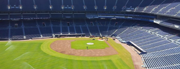 Turner Field is one of MLB parks.